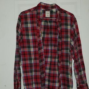 Long sleeve flannel shirt